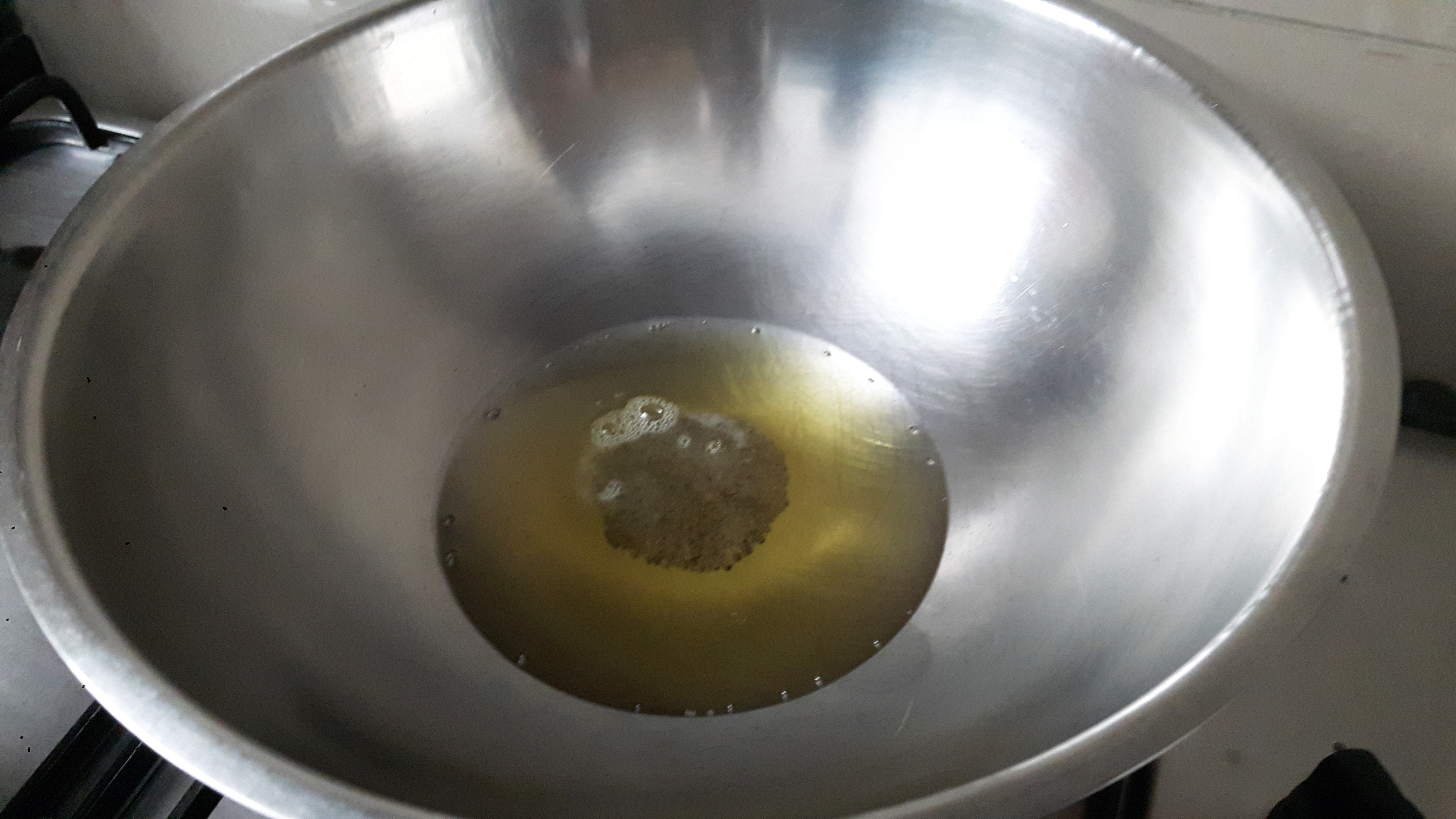 add mustard seed and asafoetida