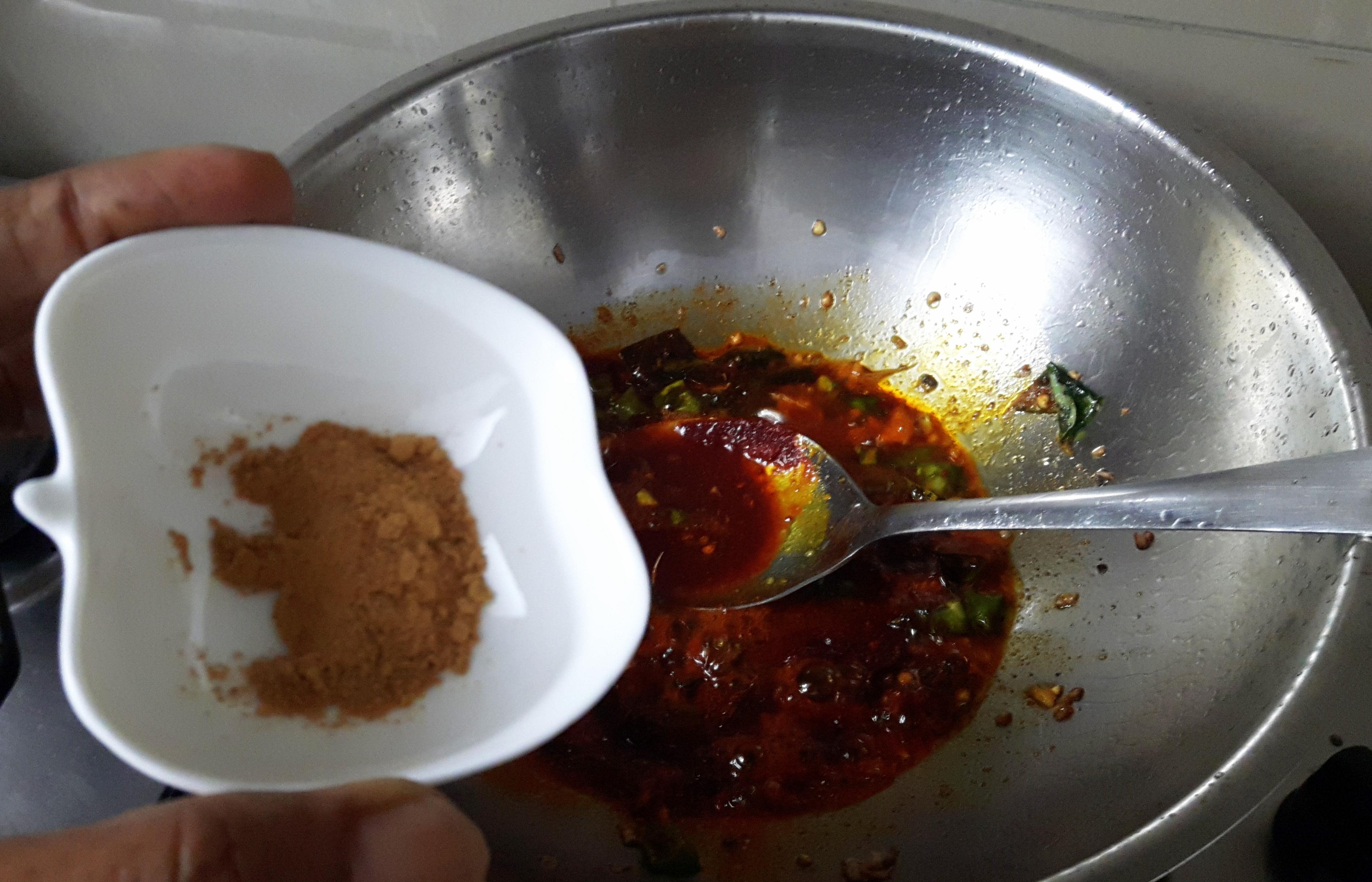 Add all dry masala