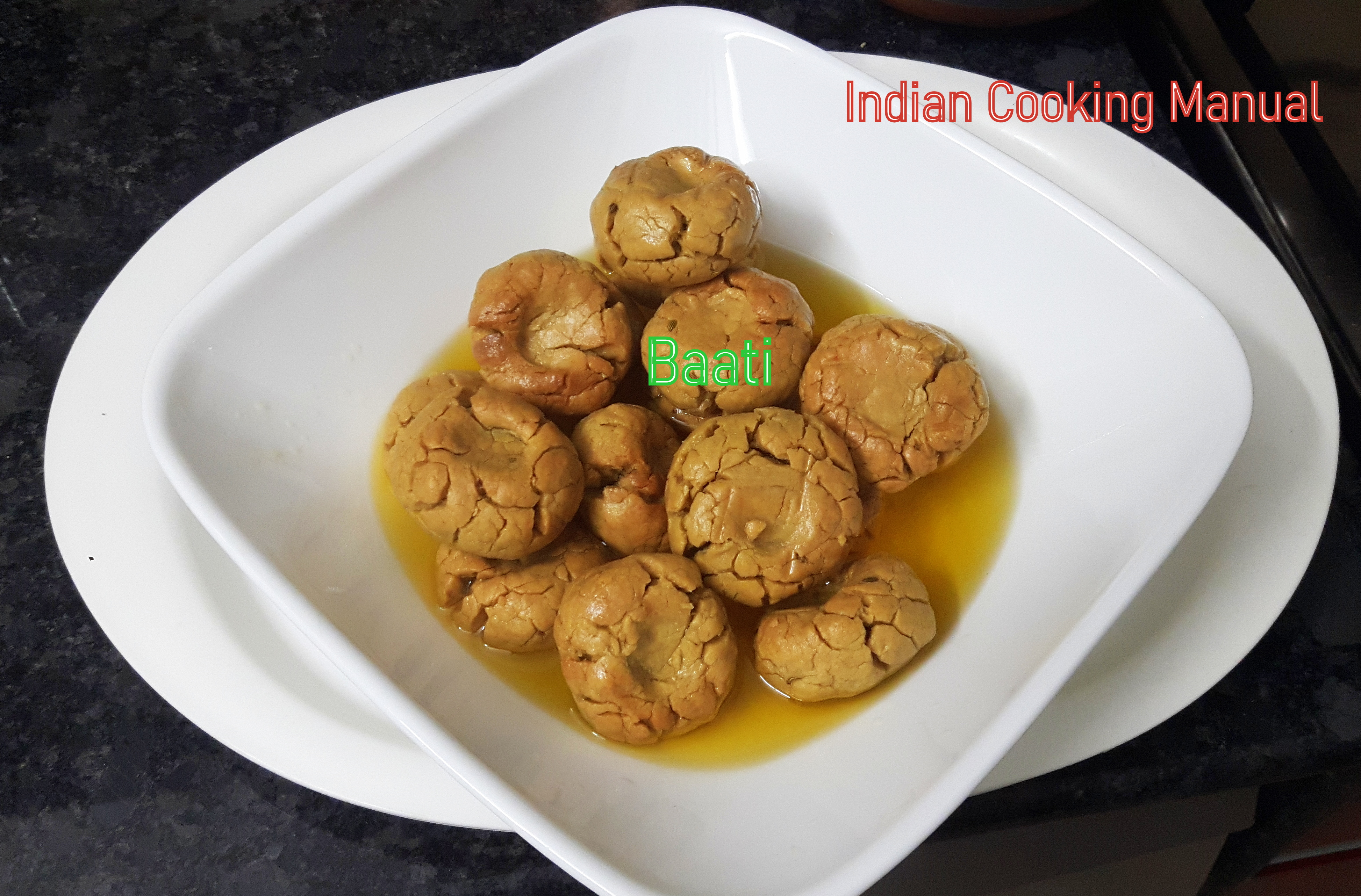 Baati (Rajasthani recipe)