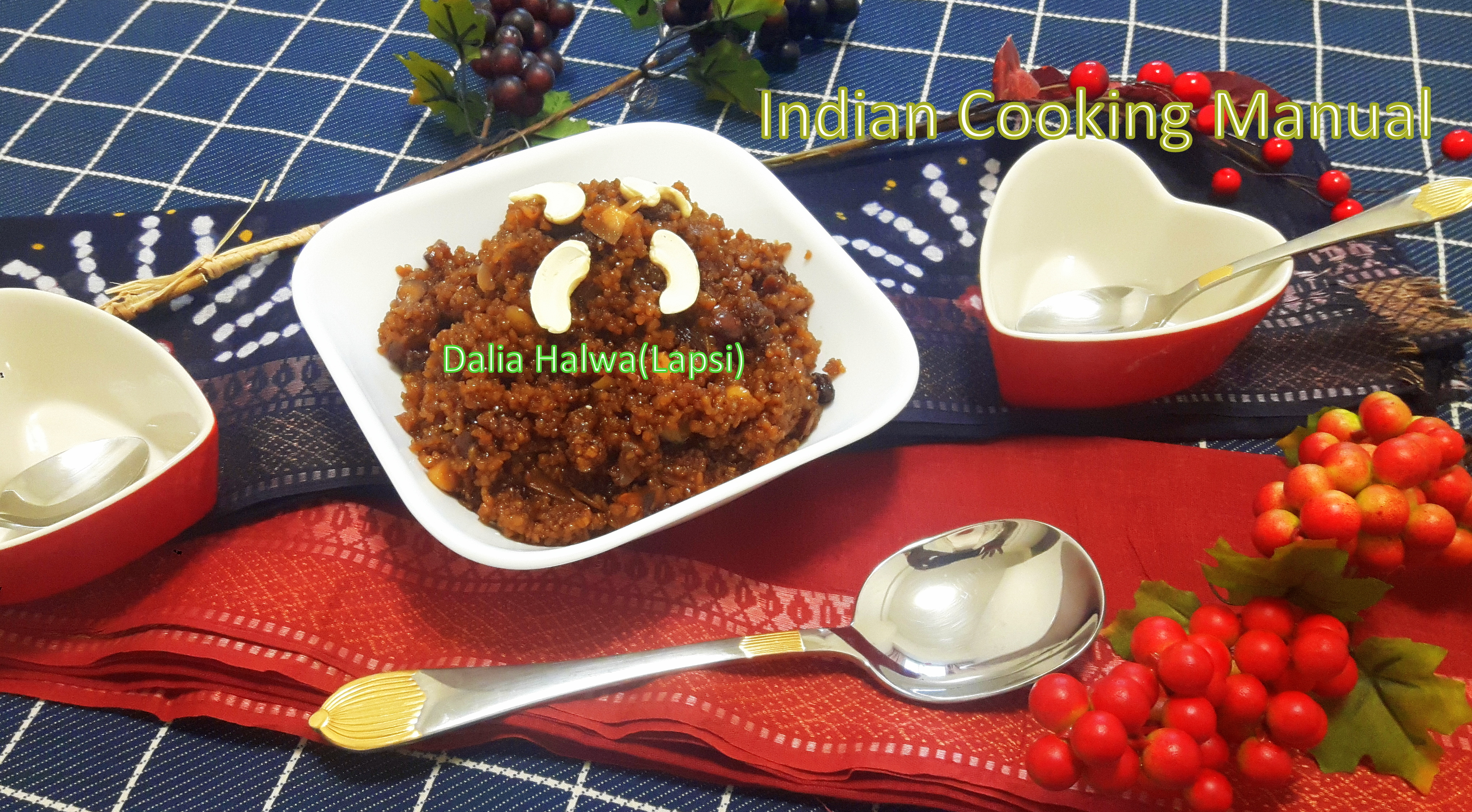 Dalia(Broken wheat)Halwa (Lapsi)