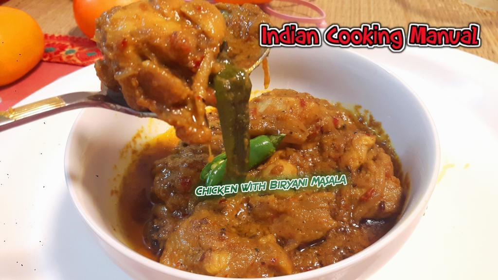 Chicken with Biryani Masala