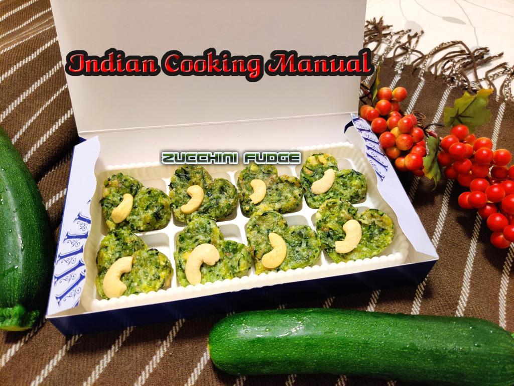 Zucchini Fudge