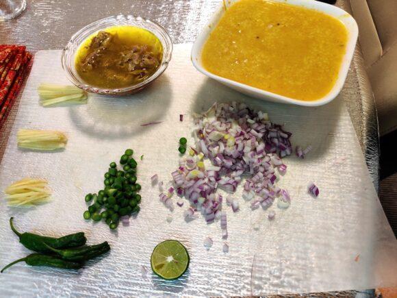 pressure cooked ingredients