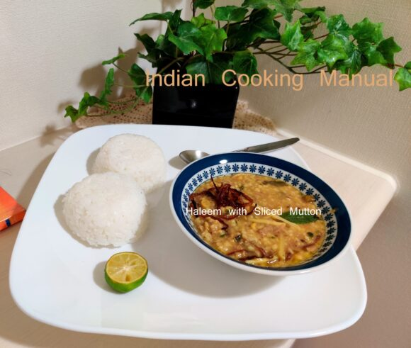 Haleem with Sliced Mutton - easy to cook