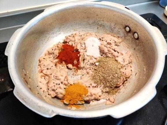 add all powder masala