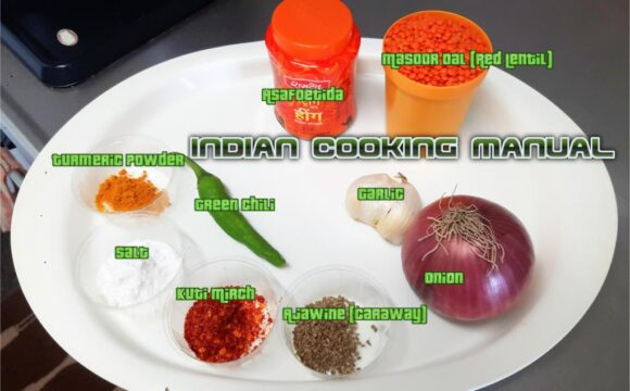 Ingredients for Kofta curry